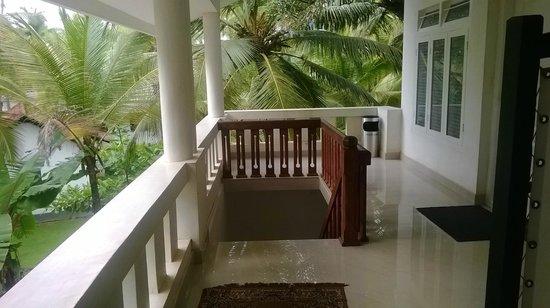 The Malabar Beach: Upstairs
