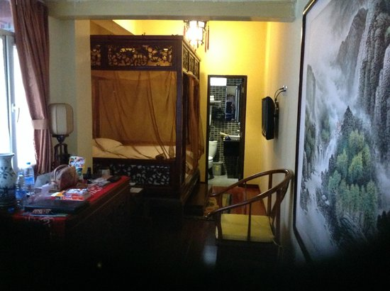 Beijing Sihe Courtyard Hotel : small room.  others are larger