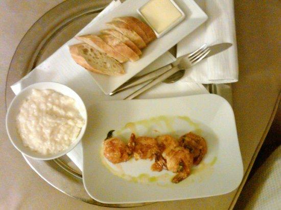 Loews Minneapolis Hotel: Risotto & Shrimp