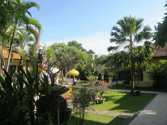 Adhi Jaya Hotel : ogród