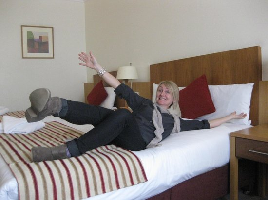 Clayton Hotel Cardiff Lane: Totally relaxed