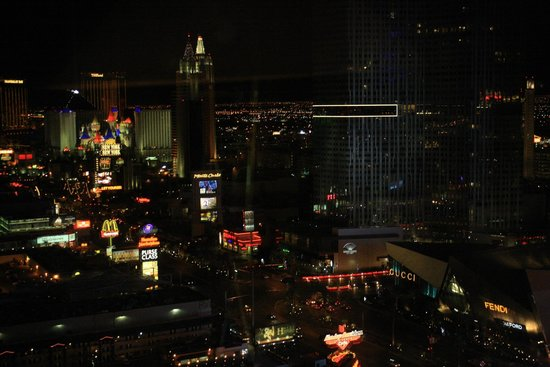 Planet Hollywood Resort & Casino: Blick aus dem 31. Stock