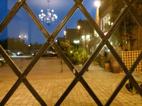 Mercure Letchworth Hall: View from the dining room