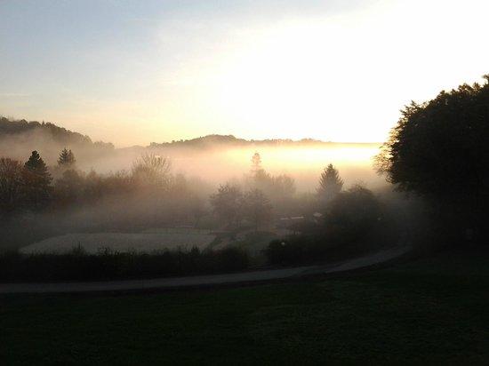Thermenhotel Stoiser: morgens