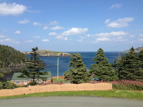 Celtic Rendezvous Cottages: View from the chalet