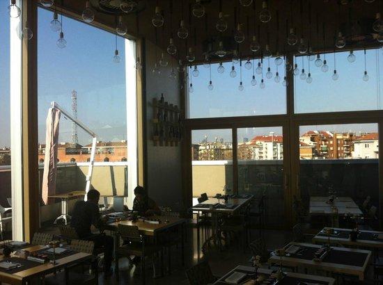 Restaurant avec vue panoramique foto di nu hotel milano milano tripadvisor - Hotel avec cuisine new york ...