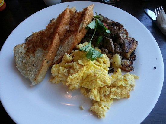 """Breakfast at """"The Mission"""" in North Park San Diego"""