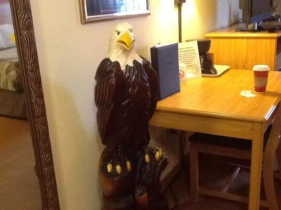 AmericInn Lodge & Suites Princeton : another eagle