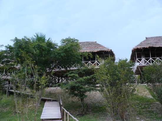 Amazonia Expeditions' Tahuayo Lodge: Our lodge at the Research Centre