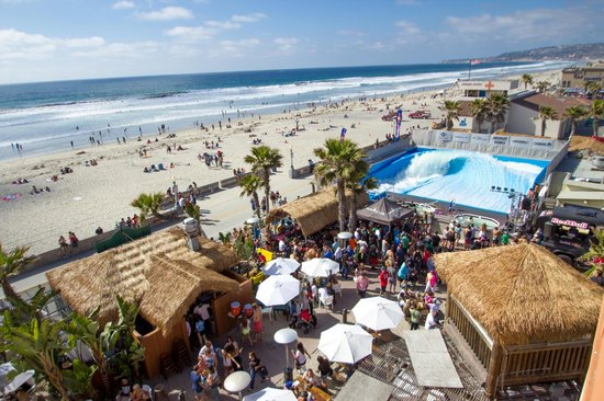 Wavehouse Beach Club Picture Of Belmont Park San Go Tripadvisor The Best Beaches In World
