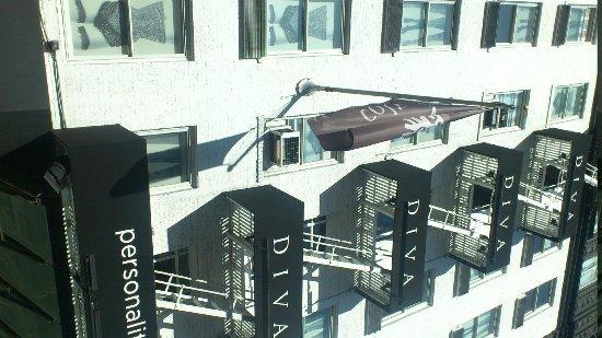 Hotel Diva: esterno