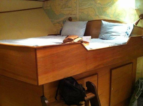 St. Katharine B&B Boat : bedroom