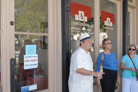 Ybor City Historic Walking Tours: Our man.