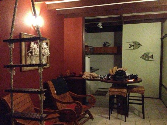 Pedras Secas Inn: Sala