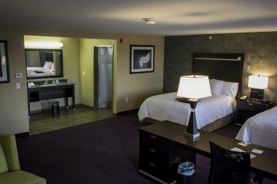 Hampton Inn & Suites Lansing West : Guest Room