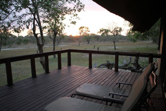 Nkorho Bush Lodge : Privacy from honeymoon suite