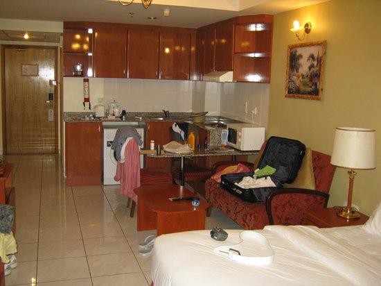 Savoy Central Hotel Apartments : De kamer