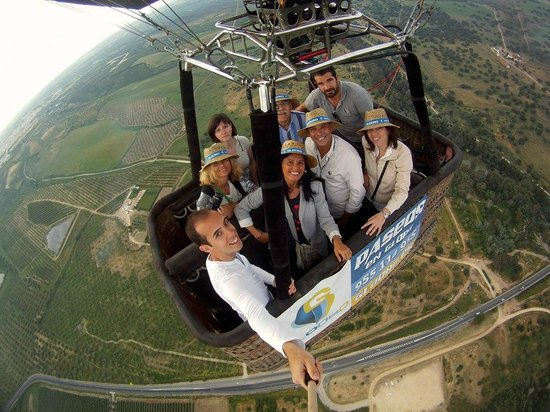 Gines, Espagne : Las vistas del Aljarafe sevillano son impresionantes