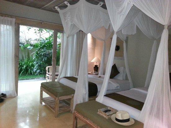 Puri Sunia Resort: ma chambre