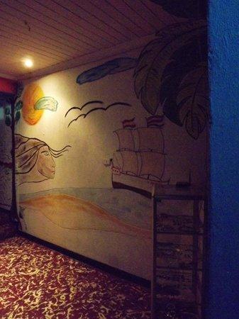 Hotel Cortez Azul: art