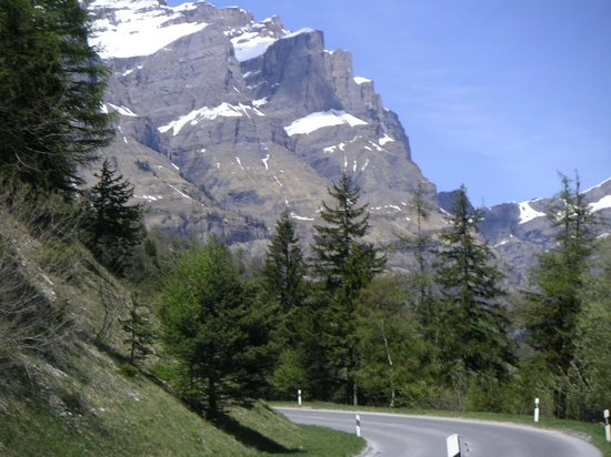 Thermal Hotels und Walliser Alpentherme & Spa: Вид из отеля