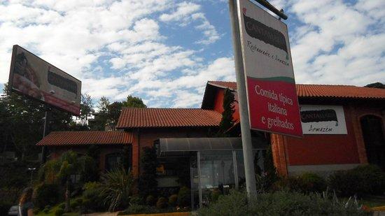 Casa di Paolo: entrada