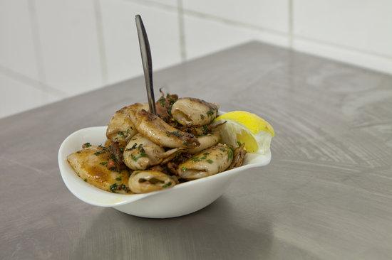 Le Pelagos : calamars à la plancha