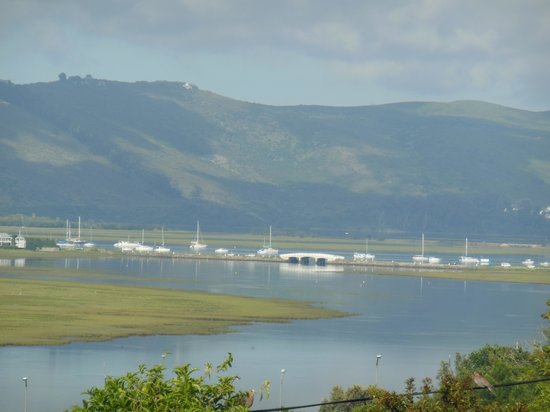 Knysna Stays : View from our room