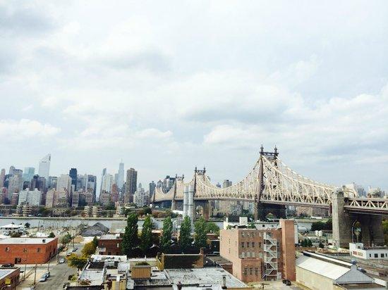 Z New York Hotel: Вид из номера. 10 этаж.