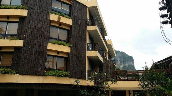 Phra Nang Inn: Hotel facade