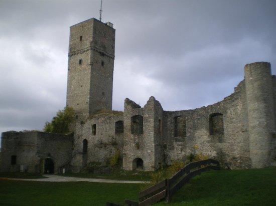 Königstein im Taunus, Niemcy: Ansicht Ruine