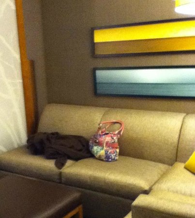 Hyatt Place Dewey Beach : Sitting Area with Partition