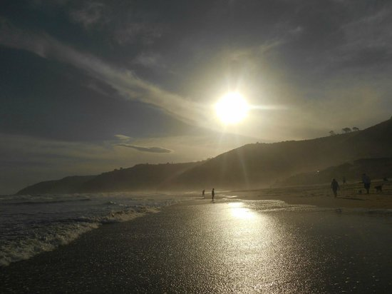 Wilderness Beach house: Coucher de soleil