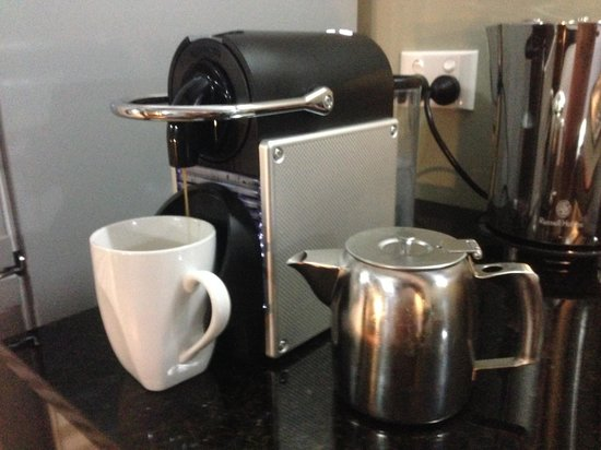 Orbost Motel: The coffee machine!!!