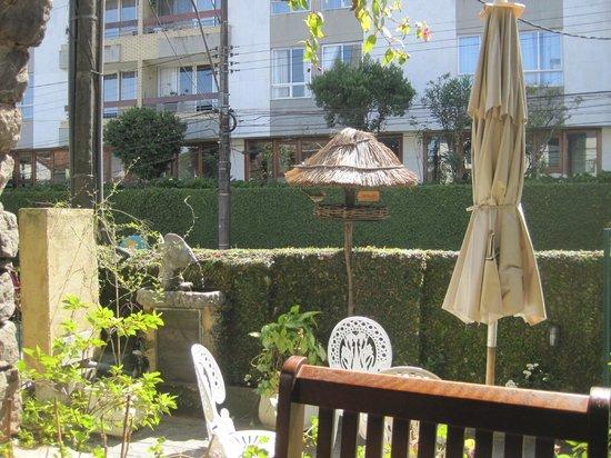Braganca Palace Hotel: Parte da entrada do hotel