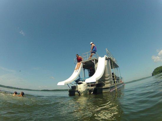 Kentucky Lakes / Prizer Point KOA: Slides were key...