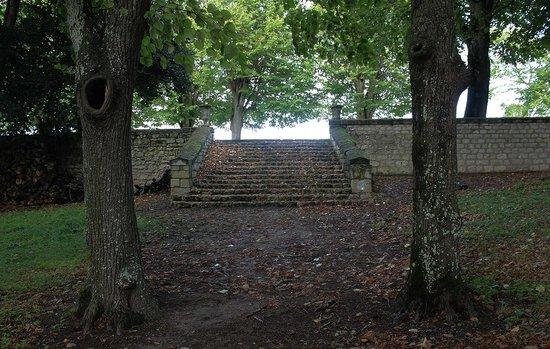 Château de Marçay  : le parc