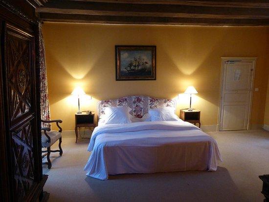 Château de Marçay  : la chambre n° 1 au 1er étage