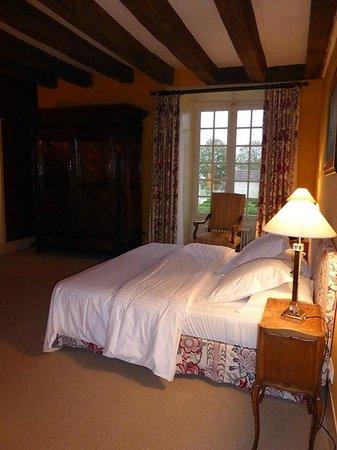 Château de Marçay  : le lit