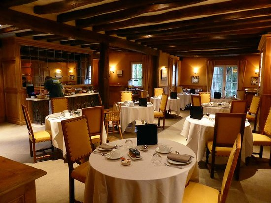 Château de Marçay  : la salle du petit déjeuner