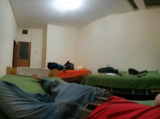 Sumayaq Hostel Cusco: descansando
