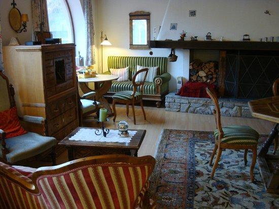 Hotel Seraina : Stüvetta, Speisesaal,