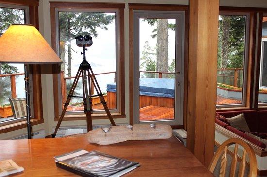 A Snug Harbour Inn : Amazing binoculars