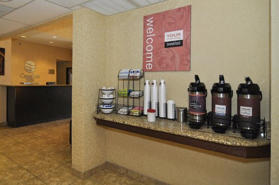 Comfort Inn Near Plano Medical Center : Enjoy 24 hour complimentary gourmet coffee & tea