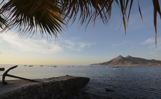 Pension La Isleta del Moro: Prise depuis la pension....