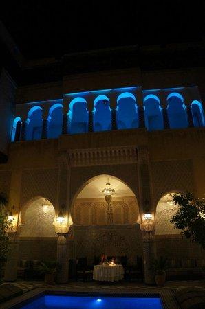 Riad Salam Fes : Vue de nuit