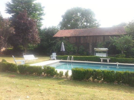 Ferme de Tayac : The pool
