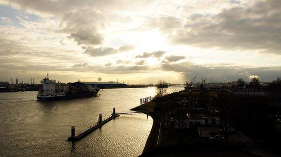 Delta Hotel Rotterdam: Вид из окна