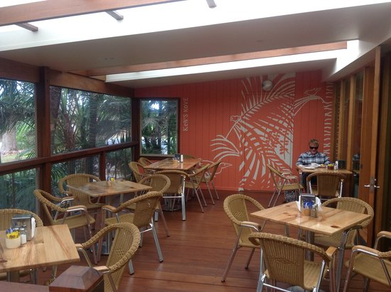 Coral Cafe at the Museum: New verandah