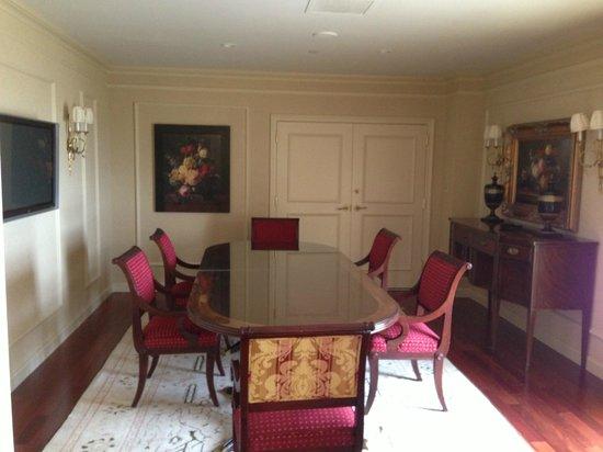 Willard InterContinental Washington: Comedor Suite Washington